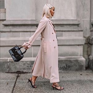 Zara strappy kitten heels
